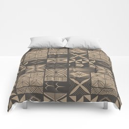 UrbanNesian Camo Siapo and Tatau Comforters