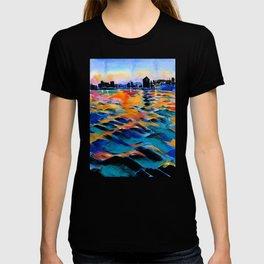 Seaport of Genoa, Italy T-shirt