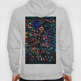 Magic Night In the Jungle Graffiti Art Abstract Pattern by Emmanuel Signorino  Hoody