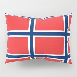 flag of norway Pillow Sham