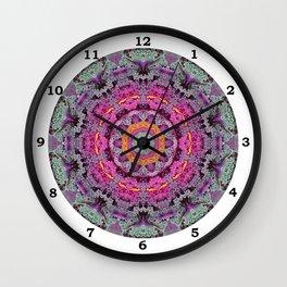 Kale mandala Wall Clock