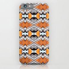 Orange and Neon Slim Case iPhone 6s