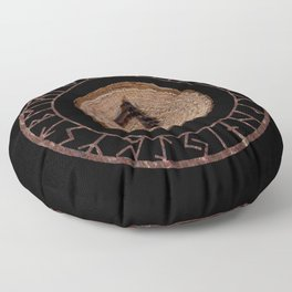 Othala Rune ancestral property, one's homeland or a sense of physical, mental, emotional, spiritual Floor Pillow
