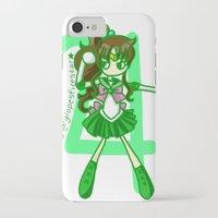 sailor jupiter iPhone & iPod Cases featuring Sailor Jupiter by Glopesfirestar