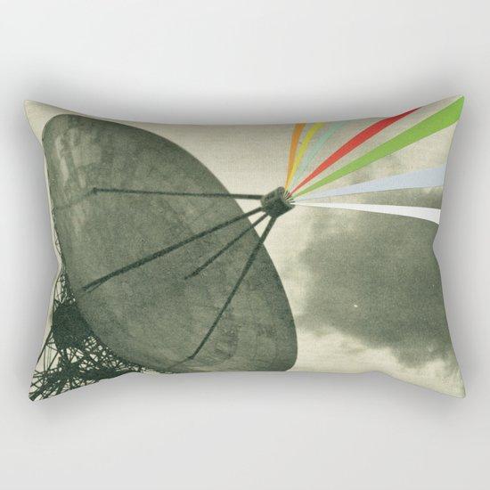 Earth Calling Rectangular Pillow