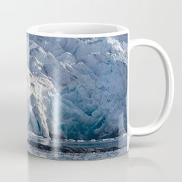 Ice art by nature on glacier and in ocean Coffee Mug