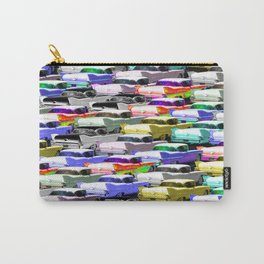 Gridlock Vintage Parking Lot Carry-All Pouch