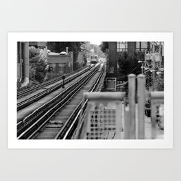 Cta tracks Art Print
