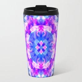 Fractured Light Mandala Travel Mug