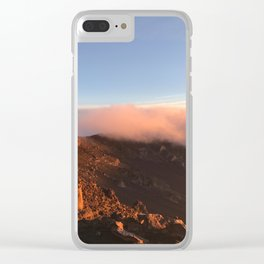 Maui Canyon Sunrise Clear iPhone Case