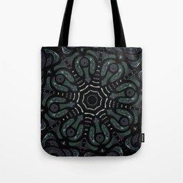 Dark Mandala #4 Tote Bag