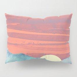 Pink Oasis Pillow Sham
