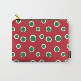 Christmas Dots Carry-All Pouch