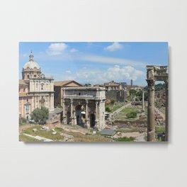 Roman Forum (Rome, Italy) Metal Print