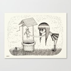 'I Don't Want You Anymore' Canvas Print