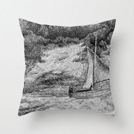 Fingerprint - Sailing Throw Pillow
