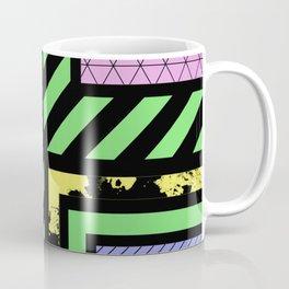 Pastel Corners (Abstract, geometric, textured designs) Coffee Mug