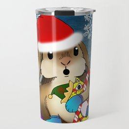 Currier & Bunnies: HO HO HO Travel Mug