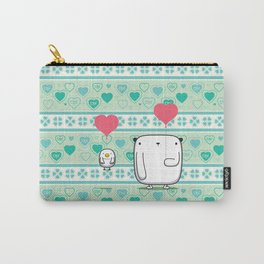 GREEN LOVE Carry-All Pouch