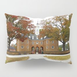 Colonial Williamsburg Capitol Building in Autumn Pillow Sham