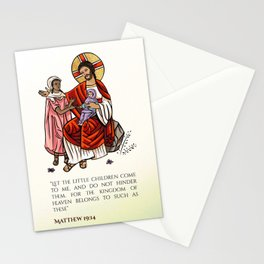 Matthew 19:14 Stationery Cards