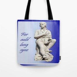 For Auld Lang Syne Tote Bag