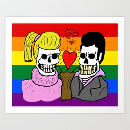 LOVE IS EQUAL (UNISEX) Art Print