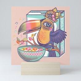 Musical cereal  Mini Art Print