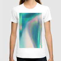 glitch T-shirts featuring Pacifica glitch by La Señora