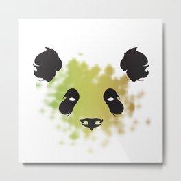 Panda-Piece Metal Print