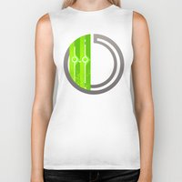 lime green Biker Tanks featuring Lime by Ryukaza