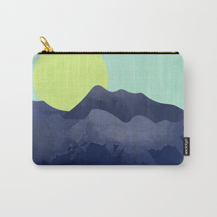 Sunset Mountain Carry-All Pouch