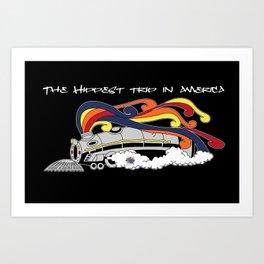 Soul Train Art Print