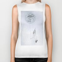 child Biker Tanks featuring Child by Drawings by Oxun
