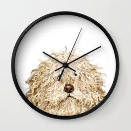 Cute Puli Dog Wall Clock