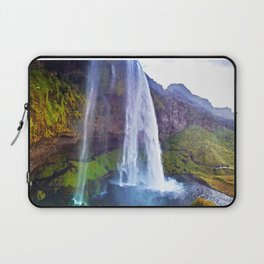 Seljalandsfoss Waterfall in Southern Iceland (1) Laptop Sleeve