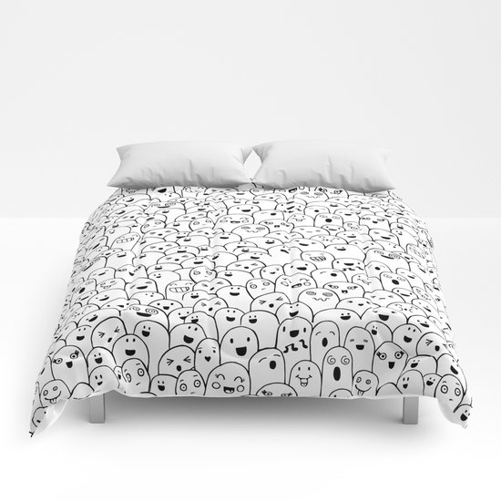 Doodle Party Comforters