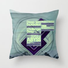 Project Nekton - Exploration #1 Throw Pillow
