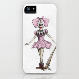 Clown Number 13 iPhone Case