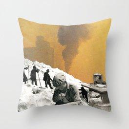 An Industrial Vice Throw Pillow