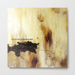 NIN - The Downward Spiral Metal Print