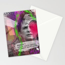 Marty Mcfly is back Stationery Cards