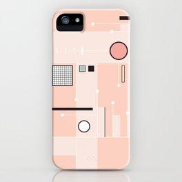 Summer Maxi-minimalism iPhone Case