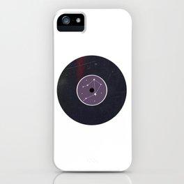 Vinyl Record Star Sign Art | Libra iPhone Case