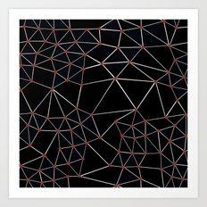 Seg with Red Spots Art Print