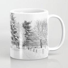 New York City Winter Trees in Snow Coffee Mug