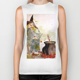 A Witch called Zee Biker Tank