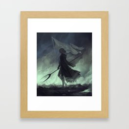 Last stand II Framed Art Print