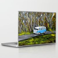 vw bus Laptop & iPad Skins featuring VW Bus by ThisArtToBeYours