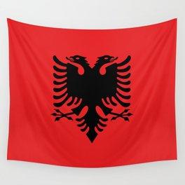 Flag of Albania - Albanian Flag Wall Tapestry